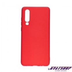 forcell soft case red p30 lite gvatshop1170